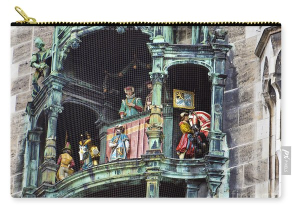 Mechanical Clock In Munich Germany Carry-all Pouch