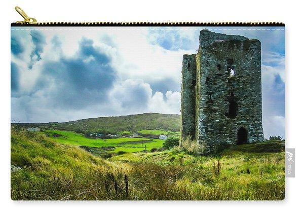Medieval Dunmanus Castle On Ireland's Mizen Peninsula Carry-all Pouch