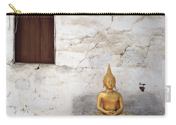 Meditation In Laos Carry-all Pouch