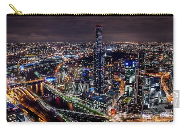 Melbourne At Night IIi Carry-all Pouch