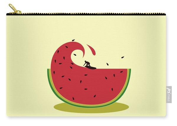 Melon Splash Carry-all Pouch