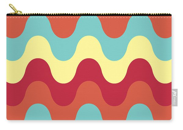 Melting Colors Pattern Carry-all Pouch
