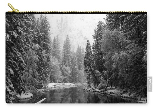 Merced River Winter Carry-all Pouch