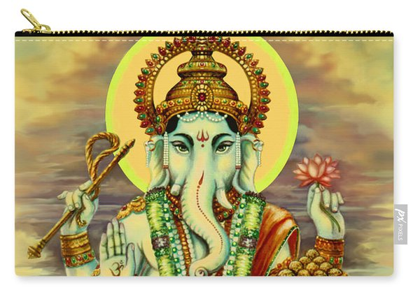 Merciful Ganesha Carry-all Pouch
