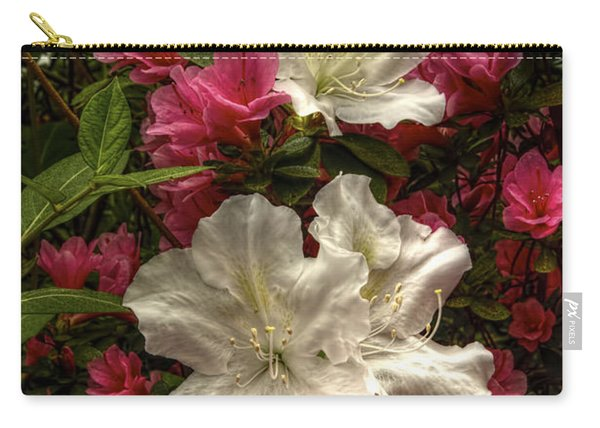 Merging Azaleas  Carry-all Pouch