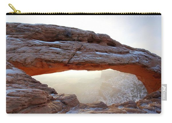 Mesa Arch Looking North Carry-all Pouch