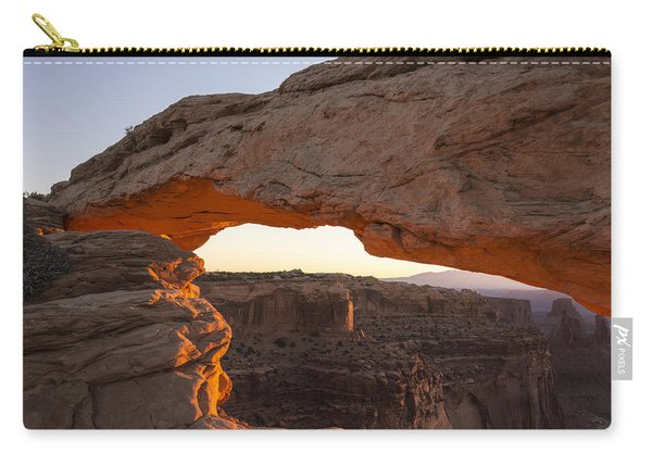 Mesa Arch Sunrise 2 - Canyonlands National Park - Moab Utah Carry-all Pouch