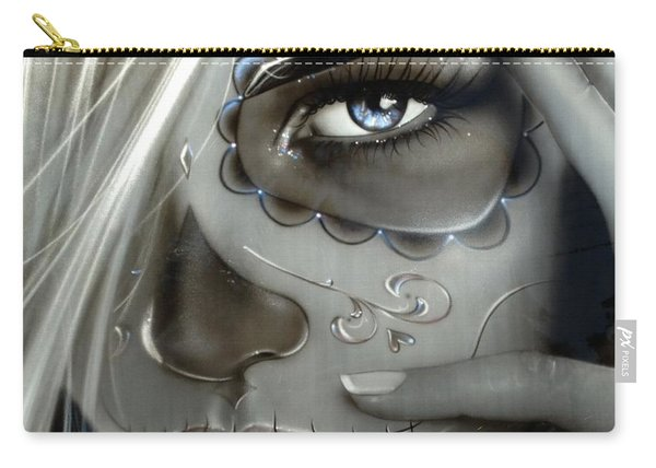 Metallic Decay Carry-all Pouch