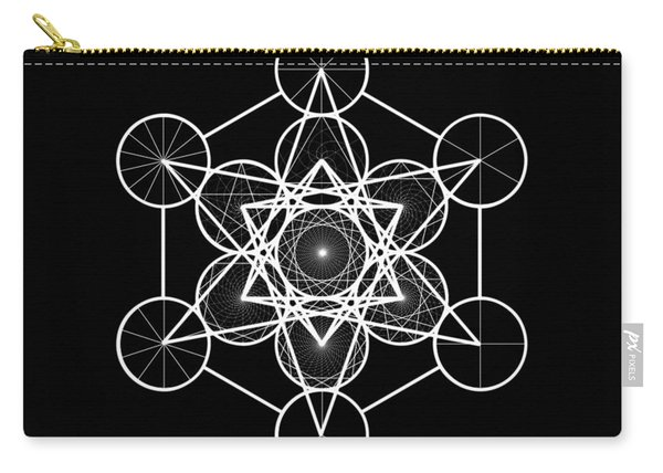 Metatron Wheel Cube Carry-all Pouch