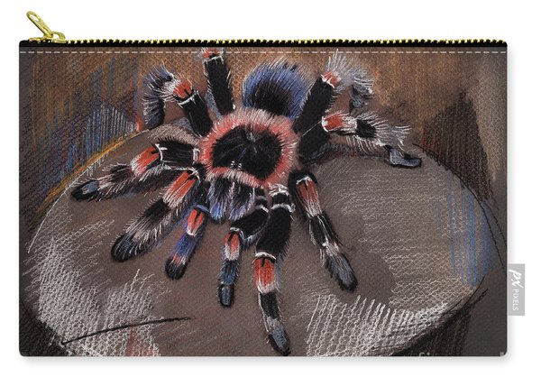 Mexican Redknee Tarantula Carry-all Pouch