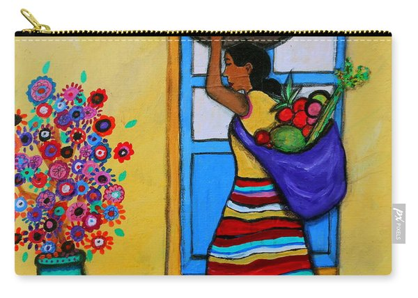 Mexican Street Vendor Carry-all Pouch