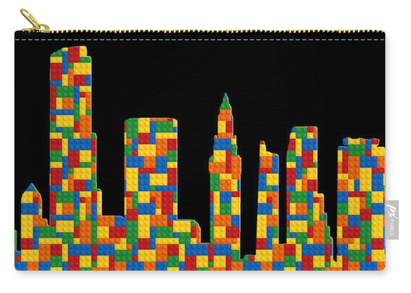 Miami Skyline 3 Carry-all Pouch
