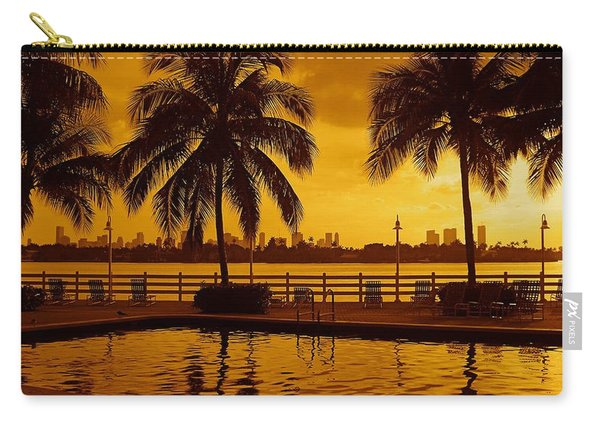 Miami South Beach Romance Carry-all Pouch