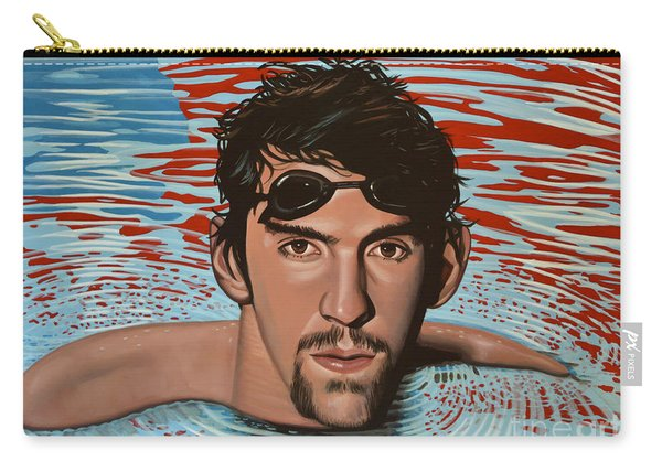 Michael Phelps Carry-all Pouch