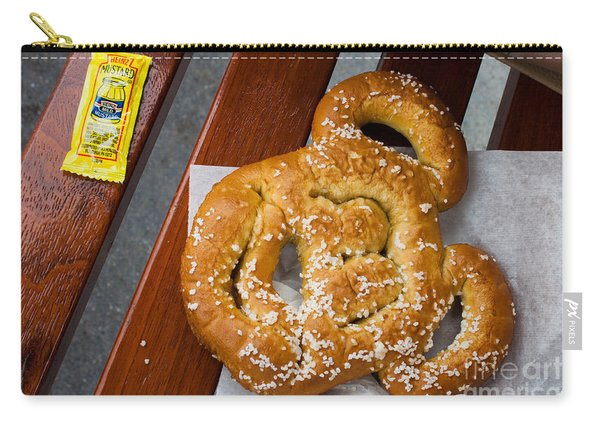 Mickey Mouse Shaped Pretzel Carry-all Pouch