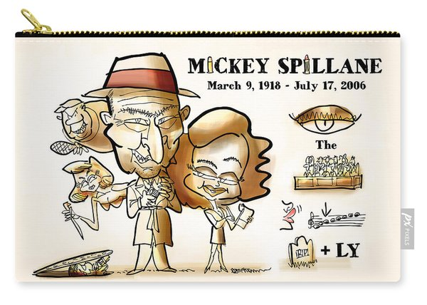 Mickey Spillane Carry-all Pouch