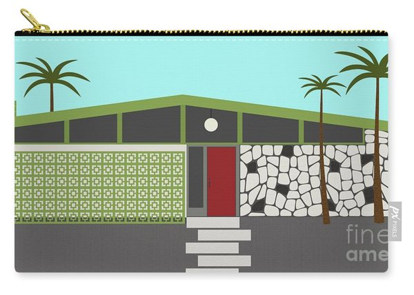 Mid Century Modern House 4 Carry-all Pouch