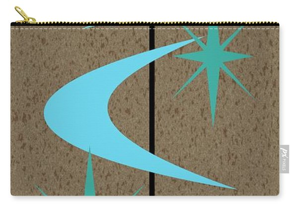 Mid Century Modern Shapes 2 Carry-all Pouch