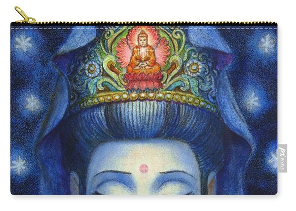 Midnight Meditation Kuan Yin Carry-all Pouch