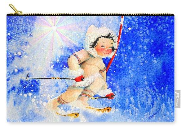 Midnight Sun Ski Racer Carry-all Pouch