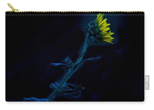 Midnight Sunflower Carry-all Pouch