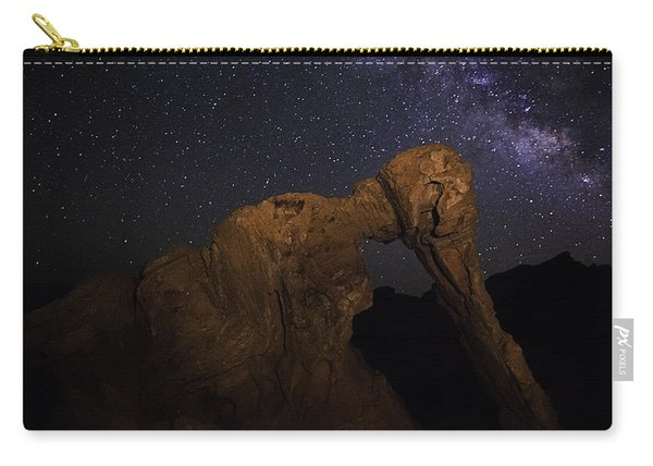 Milky Way Over The Elephant 2 Carry-all Pouch
