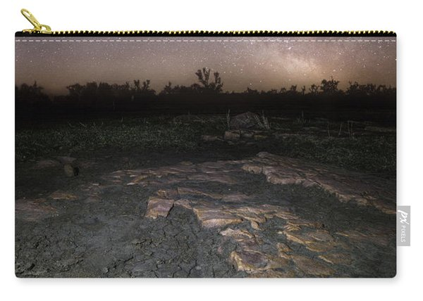 Milky Way On The Rock Carry-all Pouch