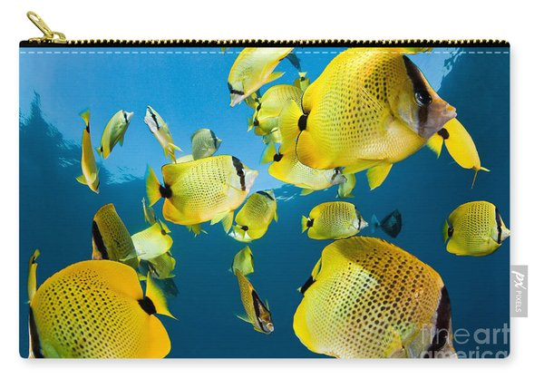 Millet Butterflyfish Carry-all Pouch