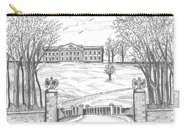 Mills Mansion Staatsburg Carry-all Pouch