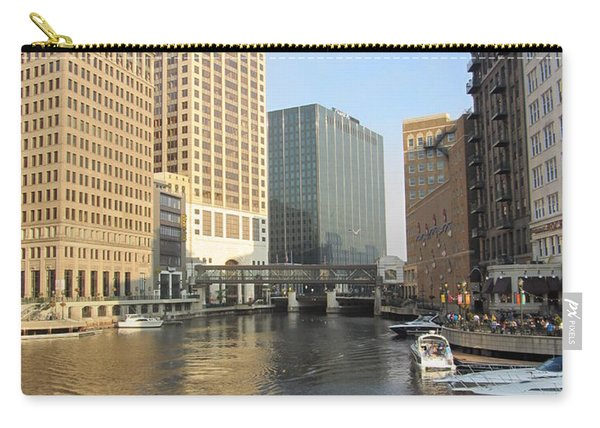 Milwaukee River Theater District 3 Carry-all Pouch