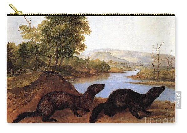 Minks Carry-all Pouch