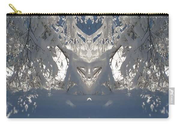 Mirror Of Snow  Carry-all Pouch