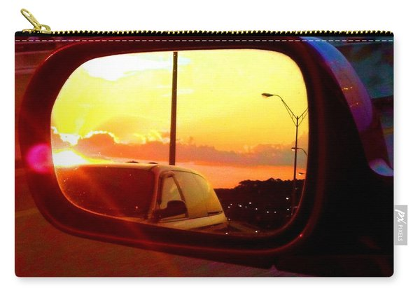 Mirror Sunset Carry-all Pouch