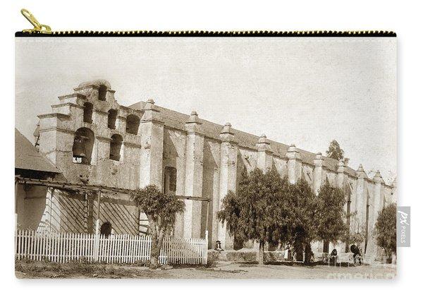 Mission San Gabriel Arcangel California Circa 1895 Carry-all Pouch