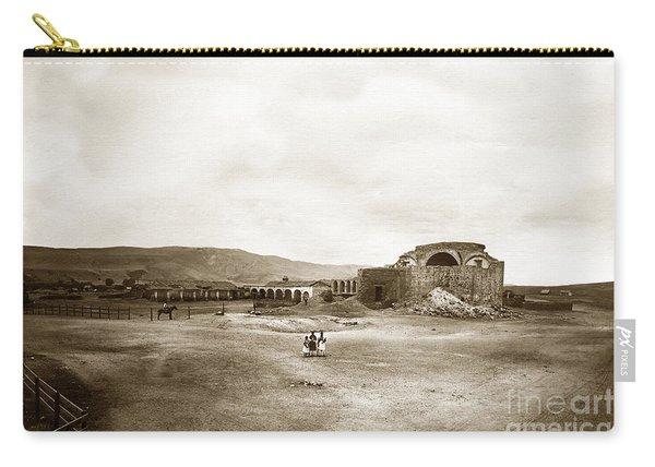 Mission San Juan Capistrano California Circa 1882 By C. E. Watkins Carry-all Pouch