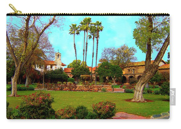 Mission San Juan Capistrano No 11 Carry-all Pouch