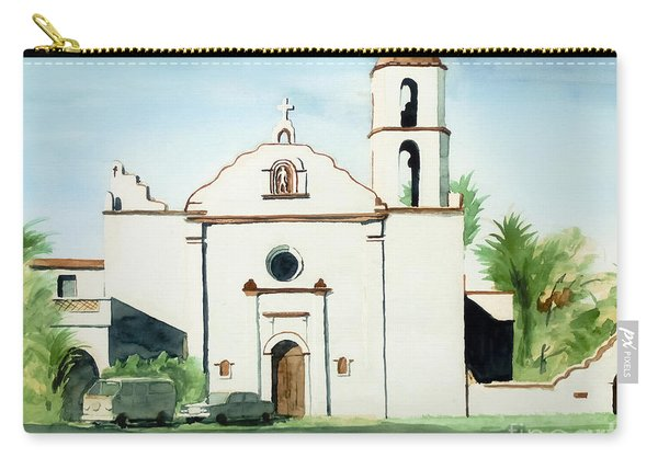 Mission San Luis Rey Colorful II Carry-all Pouch