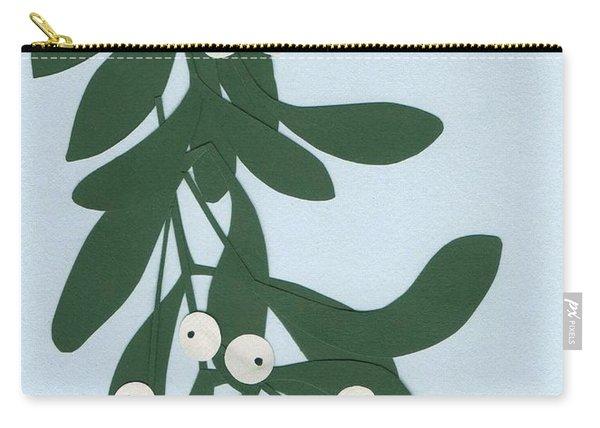 Mistletoe Carry-all Pouch