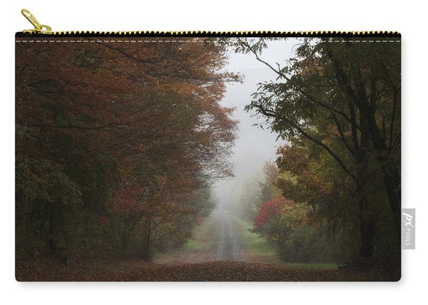 Misty Fall Morning Carry-all Pouch