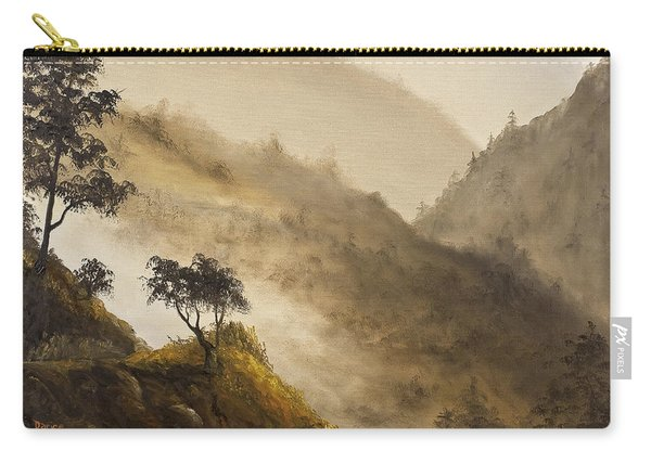 Misty Hills Carry-all Pouch