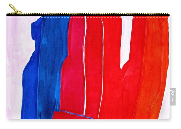 Mitten Original Painting Carry-all Pouch