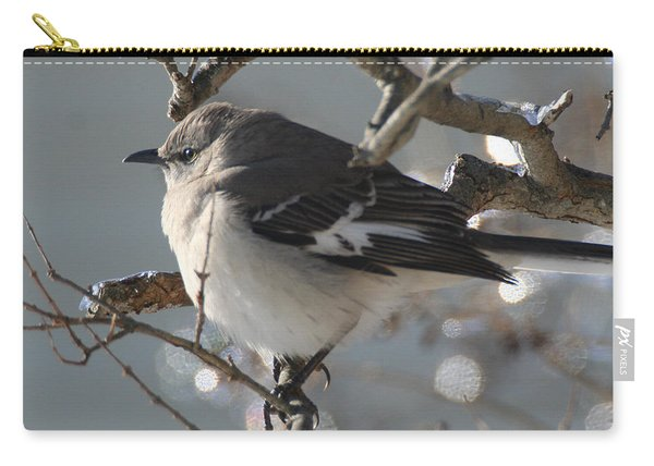 Mockingbird In Winter Carry-all Pouch