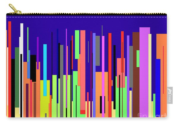 Modern Cityscape Carry-all Pouch