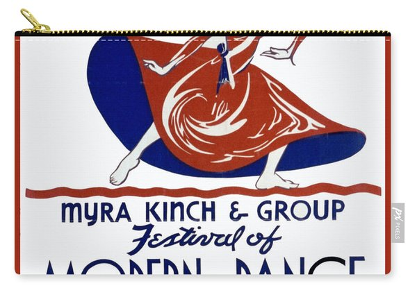 Modern Dance Carry-all Pouch