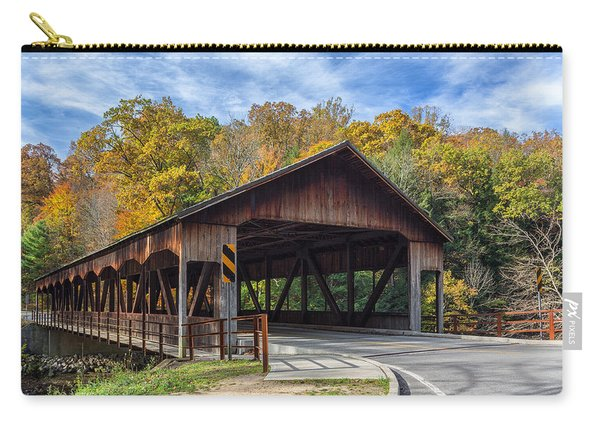 Mohican Covered Bridge Carry-all Pouch