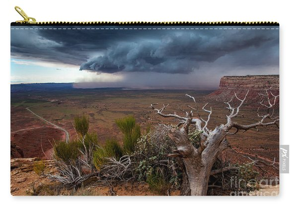 Moki Dugway Thunderstorm - Southern Utah Carry-all Pouch