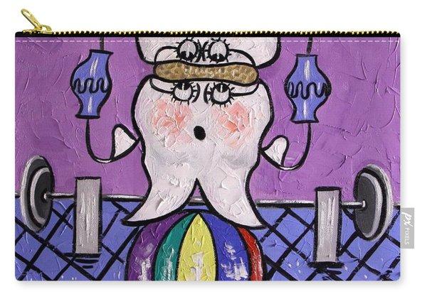 Molar Teeth Carry-all Pouch