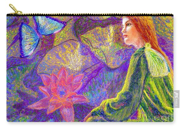 Meditation, Moment Of Oneness Carry-all Pouch