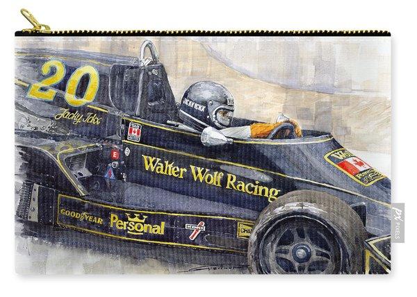 Monaco 1976 Wolf Wiliams Fw05 Jacki Ickx Carry-all Pouch