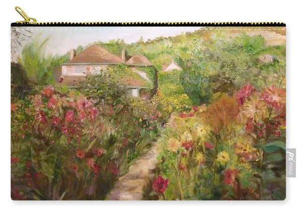 Monets Garden Fall Medley Carry-all Pouch